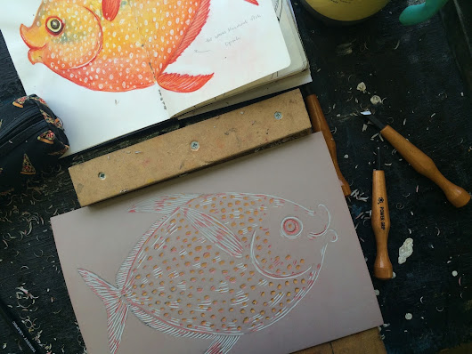 Relief Print Opah