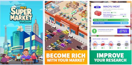 Game Supermarket: Idle Supermarket Tycoon Apk