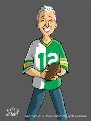 Green Bay Packers Green Bay football Packers fan cartoons sports  fans caricatures