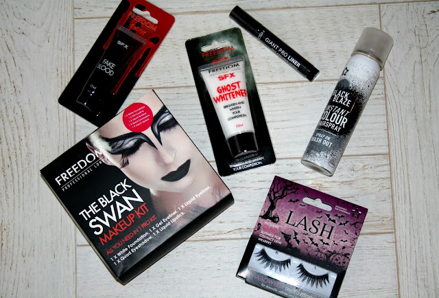 Makeup for Halloween with Superdrug