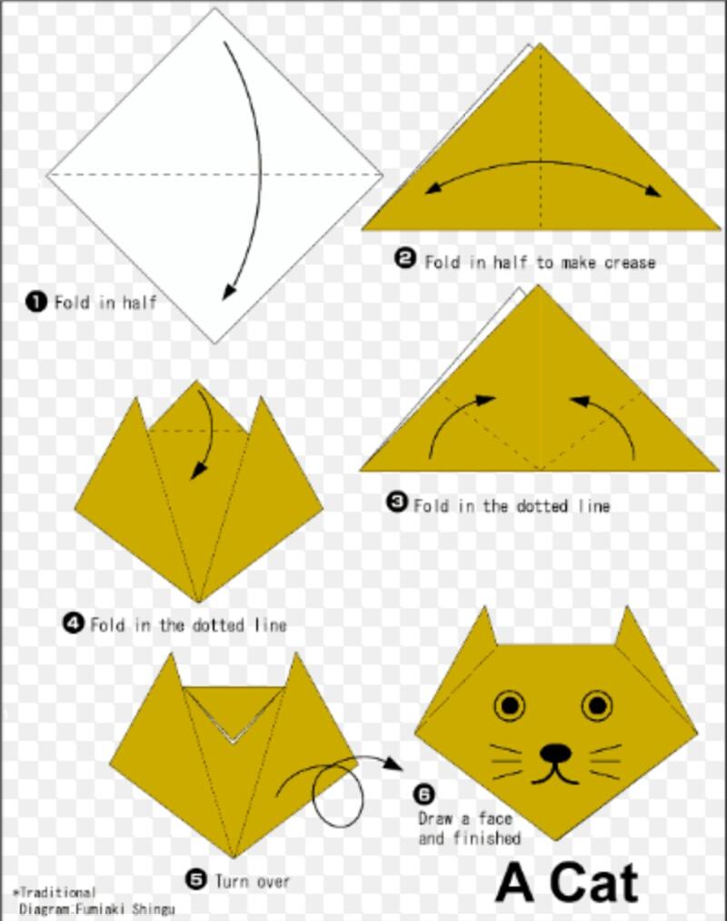 Origami Mudah Berbentuk Binatang