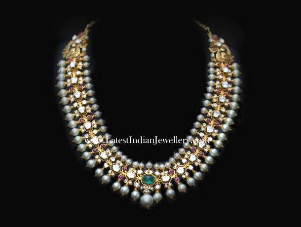 Fusion Kundan Choker necklace