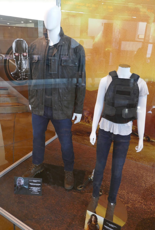 Terminator Dark Fate movie costumes