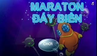 Chơi game marathon đáy biển vui