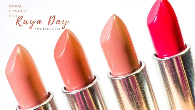 lipstik warna coral