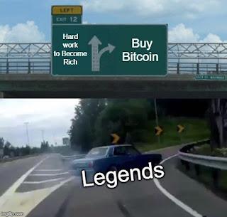 Legend Buy Bitcoin meme