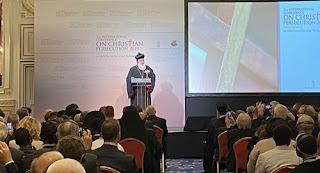 بدء أعمال المؤتمر الدولي الثاني للمسيحيين المضطهدين في بودابست
