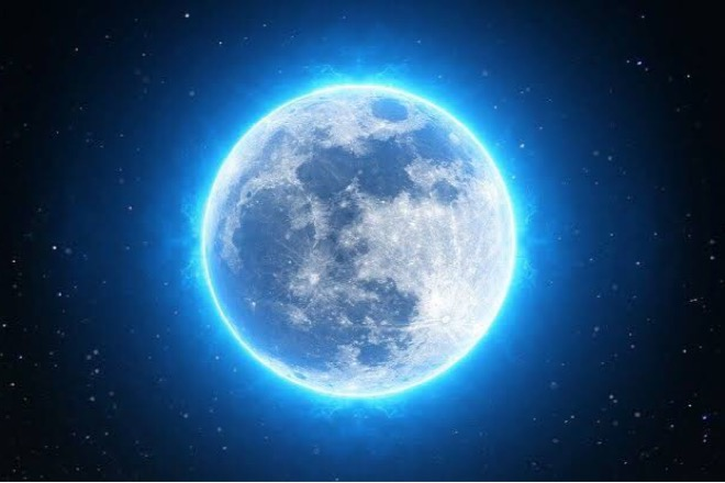 Besok, Fenomena Bulan Biru Akan Hiasi Langit Indonesia