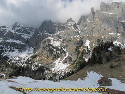 rifugio scarpa dolomiti agordine monte agner