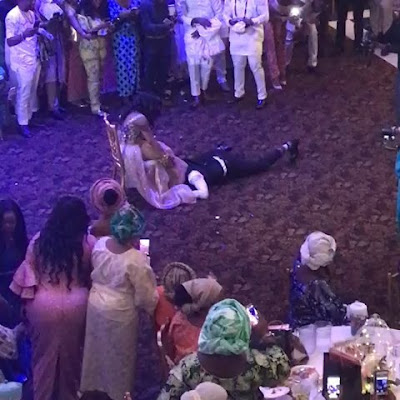 wp 1505124681191 - ENTERTAINMENT: Hilarious Moment Dad Drags Son In-Law Away From Daughter As He Tries To Remove Her Garter