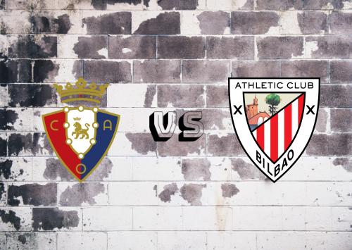 Osasuna vs Athletic Club  Resumen