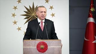 أردوغان يهنئ بعيد الفطر ويبشّر بمزيد من التقدم لتركيا
