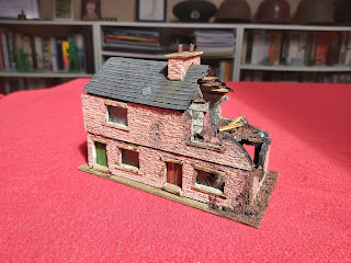 Weathering and details complete the building