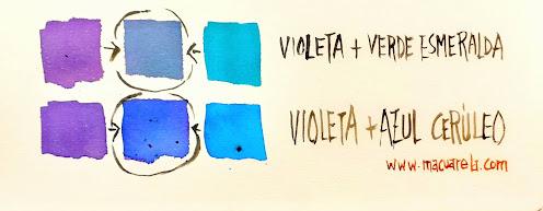 """<alt=""""Violeta de Cobalto y Azul Cerúleo""""/>"""