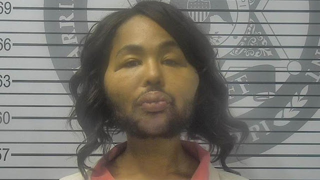 Transgender woman, 'Iconic Facce' jailed for 15 years for robbing a bank of $4,800 to pay for her Plastic Surgery