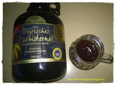 Steirisches Kürbiskernöl
