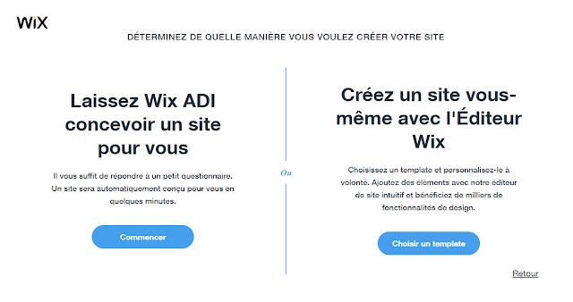 Comment créer un site Wix aisément