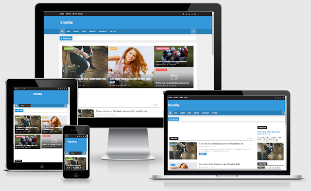 FutureMag Responsive Template Blogger