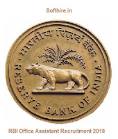 RBI Office Assistant Recruitment