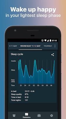 تحميل تطبيق المنبه الذكي Sleep Cycle: sleep analysis & smart alarm clock