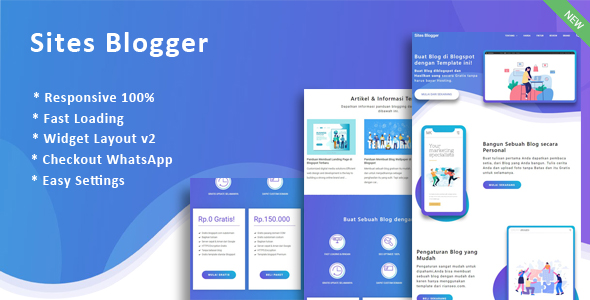 Landing Page Sites Blogger