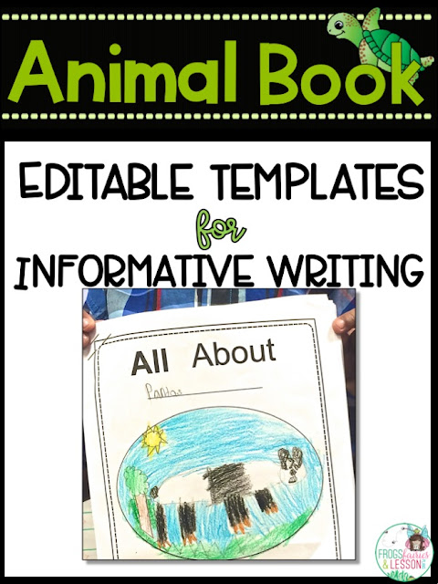 Animal Book Reports and Nonfiction Text Features