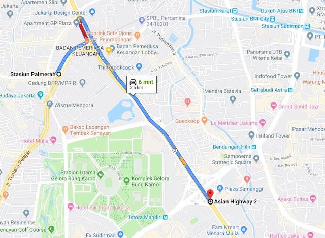 Cara Naik Kereta KRL Commuter Line ke Plaza Semanggi