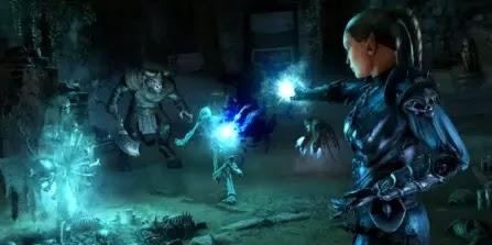 """Necromancer: """"Death's Grasp"""""""