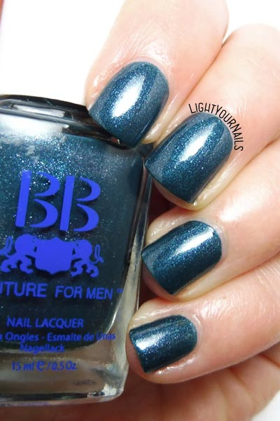 Foto swatch smalto BB Couture For Men Playboy nail polish swatch #lightyournails #bbcouture #nails #unghie