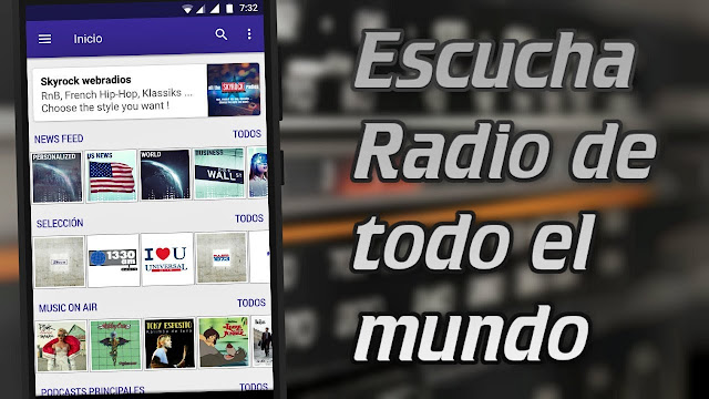 La mejor aplicación para escuchar RADIO de todo el mundo | Más de 35 Mil emisoras
