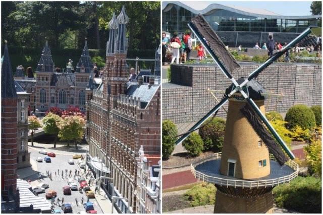 27 Museo Rijksmuseum de Amsterdam – 46 Molino de Palmboom de Schiedam en el parque Madurodam en La Haya Den Haag
