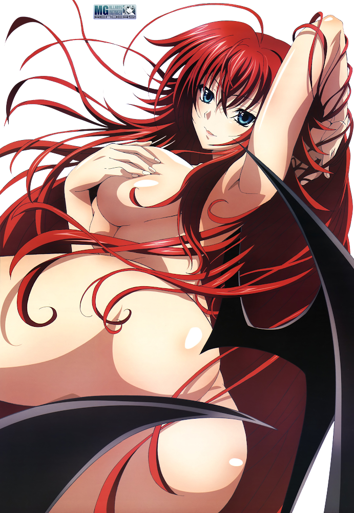 High School DxD - Rias Gremory Render 2