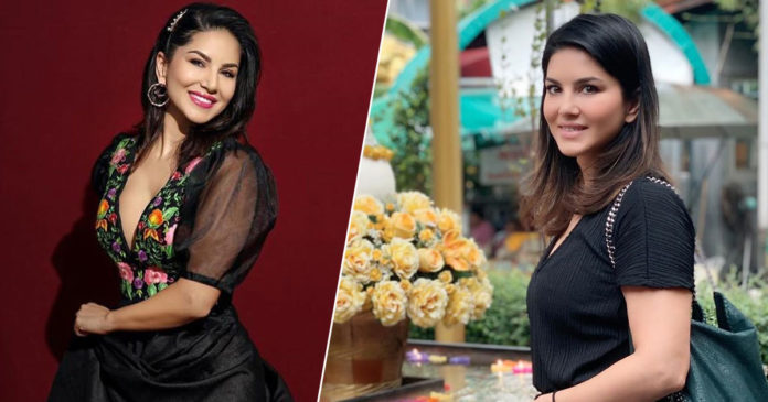 His looks, I'm so lucky; Sunny Leone sharing pictures with her beloved,www.thekeralatimes.com