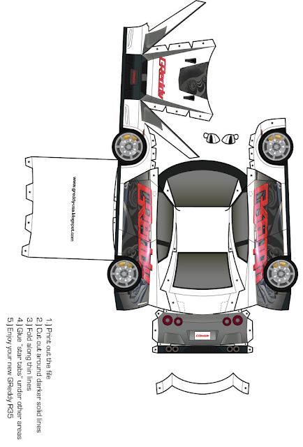 moldes de carros nibus meios de transporte para recortar montar ou usar em maquetes. Black Bedroom Furniture Sets. Home Design Ideas