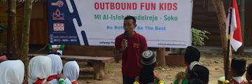 MI Al Islah Soko lakukan giat Outbound di Jatiwangi Park Tuban