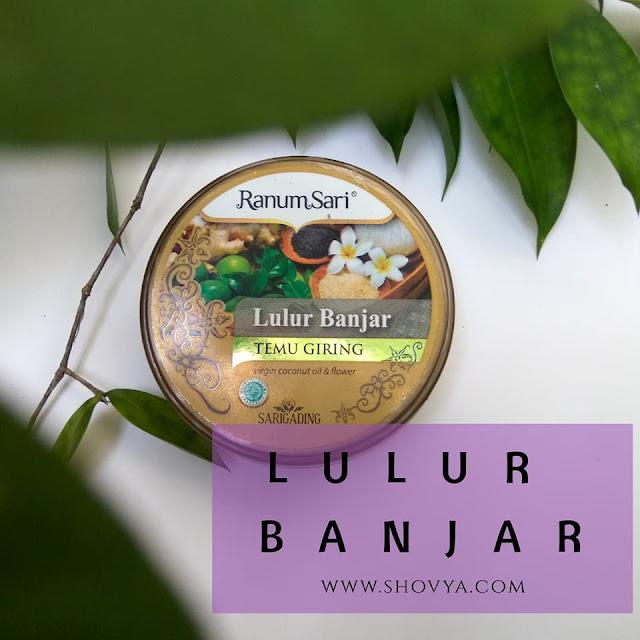 Ranum Sari Lulur Banjar Temu Giring dari Sarigading Herbal & Beauty Kalimantan Selatan