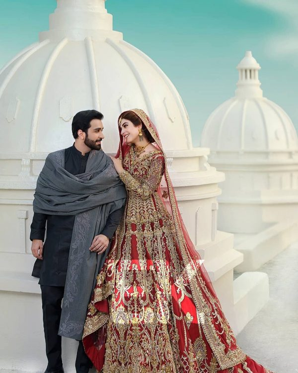 Kinza Hashmi and Azfar Rehman Beautiful Photo Shoot