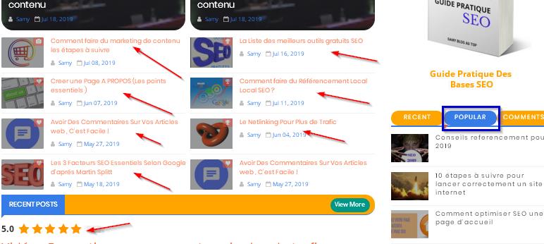 ramener des visiteurs sur un site web grâce au contenu informatif