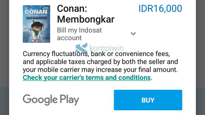 cara beli aplikasi android