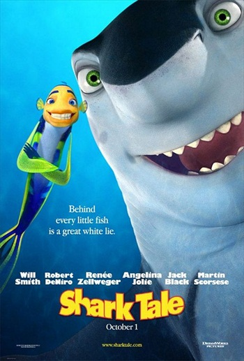 Shark Tale 2004 720p 850MB WEB-DL Hindi Dubbed