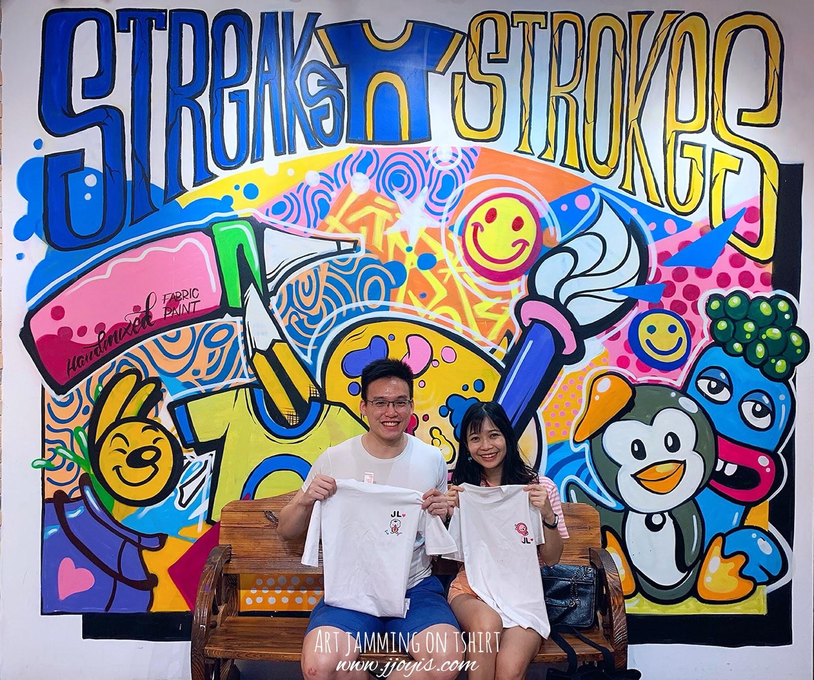 streaks n strokes art jamming