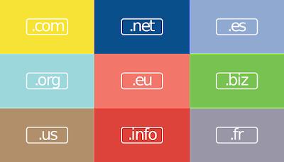 Menggunakan Domain TLD