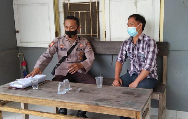 Polsek Patangkep Tutui Sambang Tokoh pemuda