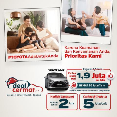 Promo Deal Cermat Toyota Auto2000 BSD Tangerang