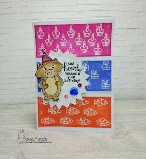 Winstons Birthday by  Diane Morales | Winson's Birthday Stamp Set by Newtons Nook Designs