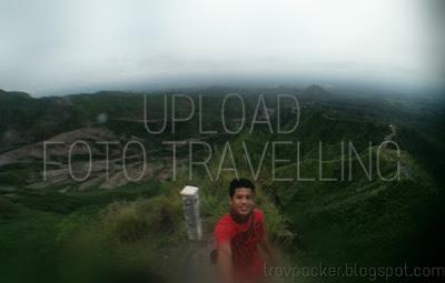 Cara upload dan posting foto hasil travelling ke blogger menggunakan hp