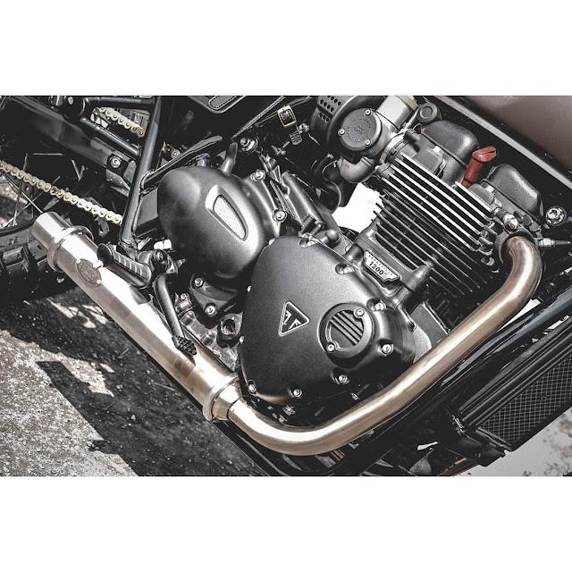 Triumph Bonneville T120 By Zeus Custom Hell Kustom