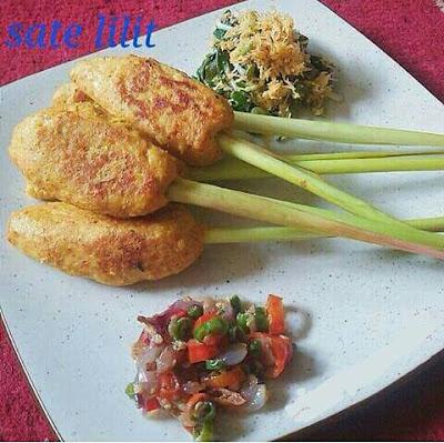 Resep Sate Lilit Ayam Panggang Sederhana Sambal Matah resep sate ayam lilit enak dan empuk Resep Sate Liilit Ayam Bali Renyah Mudah dan Praktis resep membuat sate lilit ayam cara membuat sate lilit ayam