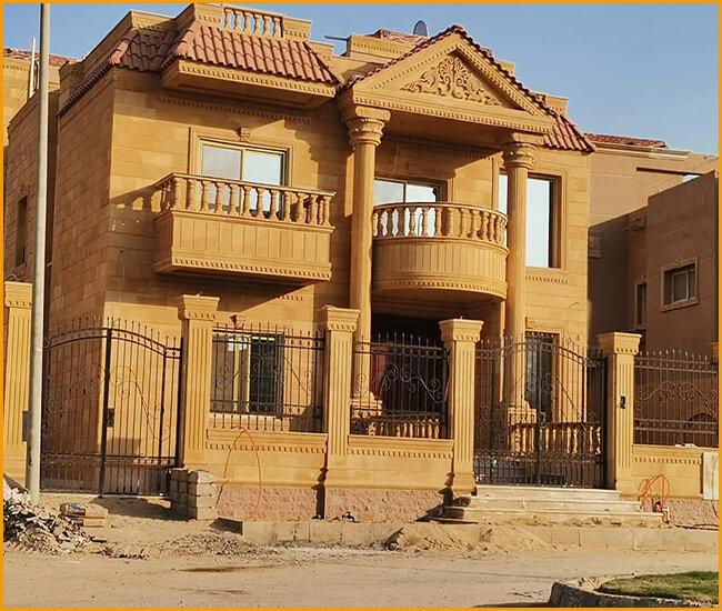 منازل طوب فرعوني