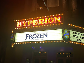 Frozen Live at the Hyperion Marquee Disney California Adventure